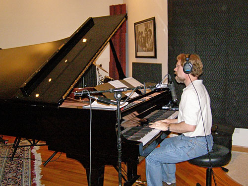 Mark Sloniker in the Studio